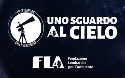 """FLA: """"LA SETTIMANA DELL'ASTRONOMIA: UNO SGUARDO AL CIELO"""""""